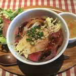 68252856 - ローストビーフ丼♪
