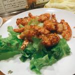 68253211 - 海老のにんにく炒め                       海老って美味しいですよね(^ ^)