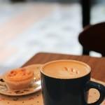 マーガレット タルト カフェ - カフェラテ