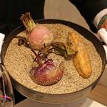 レストラン 間 - 季節の野菜