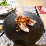中國菜 心香 - 副菜 鯛のさくさく揚げ