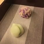 カフェ・ドン バイ スフェラ - 2種類の和菓子