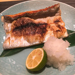 ぎをん 遠藤 - 【2017.5.13  再訪】太刀魚の塩焼き