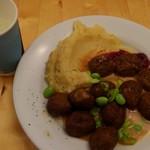 IKEAレストラン&カフェ - いつものスウェーデンミートボール