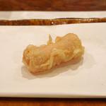 麻布 幸村 - チーズの生ハム巻き