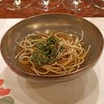麻布 幸村 - 花山椒蕎麦