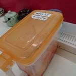 Misutaramen - 食べホーのキムチ
