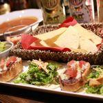 唐辛子バル チレデルナ メキシコ - タコスパーティーコース