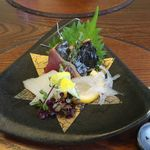 日本料理 梅林 - 鰹、アオリイカ、のれそれ