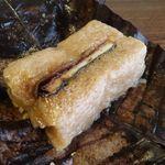 日本料理 梅林 - うなぎの朴葉蒸し