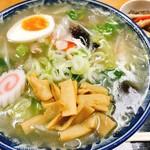 かねだ食堂 - 五目あんかけ麺(塩)