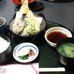 金沢なごみ亭 北都 - 天ぷら定食1380円