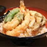 萬 - 天丼1100円