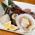 三嶋水産 - 浜焼 漁師のおすすめ盛
