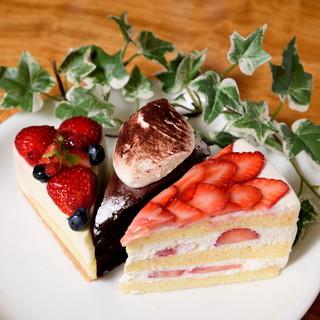 ケーキの食べられる居酒屋