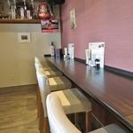 やまや - 2017-05-11_初訪問時 店内・カウンター席