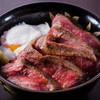 熊本九州肉専門店 肉バル アロンジェ - 料理写真:熊本名物「あか牛丼」-当店人気No.1-熊本最高級赤身肉あか牛「阿蘇王」をふんだんに
