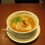 ちゃぶ屋 とんこつ らぁ麺 CHABUTON - ちゃぶとんバリ辛味噌らぁ麺(バリカタ)
