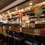 Restaurant & Bar Mashu - こちらは通常のカウンター