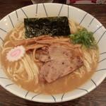麺恋処 き楽 - 中華そば(中盛)(690円)