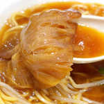 リンガーハット - 食感だけでなく、乾物らしい凝縮した旨味を味わえる。ふかひれの出汁を感じる