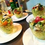Bistro Cafe GAVA - シェフおまかせのコース料理