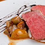 Bistro Cafe GAVA - やっぱり牛肉!ブラックアンガス牛ザブトンロースト