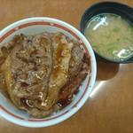 東京チカラめし - 料理写真:元祖焼き牛丼(並) 430円