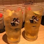 ガブリチキン - 漬け込みハイボール グレープフルーツ/レモン&ライム