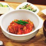 木月キッチン - 豚服団子と野菜のトマト煮