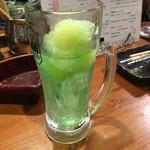 鍋専門店  にぼし - 本日の食べるハイボール・メロン