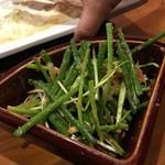 鍋専門店  にぼし - ネギ明太