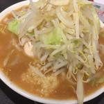 野菜みそラーメン 鬼首 - 豚ラーメン + 味噌味 ¥830