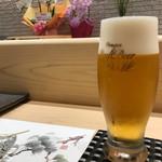 赤坂 鮨葵 - 生ビール (アサヒプレミアムビール熟撰)