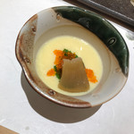 赤坂 鮨葵 - フカヒレの茶碗蒸し