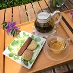 ティーハウス ガーデナーズハウス - 料理写真:クッキー&サマーシトラス
