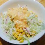 ハシヤ スパゲティ - セットのサラダ