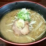 麺屋 玄 - 味噌ら~めん(700円)