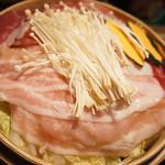 68275824 -                        豚・牛しゃぶと野菜のせいろ蒸し~2種類のタレで~