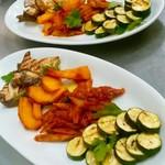 Ristorante KISAKU - 彩り豊かな4種のグリル野菜