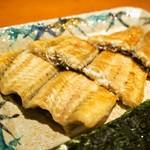 錦 - 鰻の白焼き