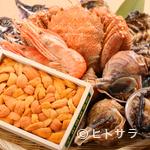 鮨 花吉 - 店主自ら目利きした北海道の魚介類