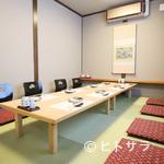 鮨 花吉 - 居酒屋としても使えるくつろぎ空間はファミリーにも人気