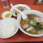 わだラーメン - ラーメンセット2017.06.08
