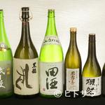 杜若 - プレミアの日本酒や焼酎、ワインも 料理にあわせて選びたい