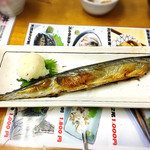 68279630 - 秋刀魚も美味しい