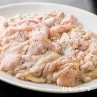 仙台ホルモン・焼き肉 ときわ亭 - タレをつけずにお召し上がりください『塩ホルモン』