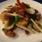 中国料理 石本 - ホタテ貝柱のXOジャン炒め