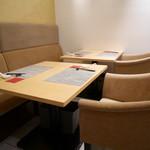 中國菜 心香 - テーブル席