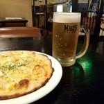 赤いトマト - 生中+ピザセット!